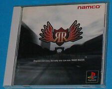 Rage Racer - Sony Playstation - PS1 PSX - JAP