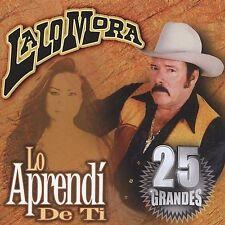 Mora, Lalo Lo Aprendi De Ti CD ***NEW***