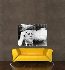 POSTER PRINT PHOTO PORTRAIT PRESIDENT JOHN KENNEDY SMOKING CIGAR JFK SEB591