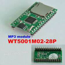 WT5001M02-28P U-disk Audio Player SD Card Voice Module MP3 Sound F Arduino HE