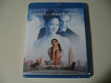 Maid in Manhattan (Blu-ray Disc) Brand New and Sealed