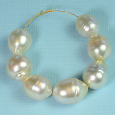 White South Sea Freeform Baroque Pearl Bead (7)