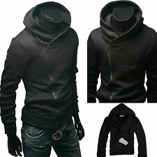 Stylish Mens Slim Hoodie Sweatshirt Casual Zipper Hoody Hooded Jacket Jumper Top