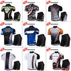 ZeroBike Men Cycling Clothing Road Riding Padded Shorts Bicycle Wear Jersey Sets
