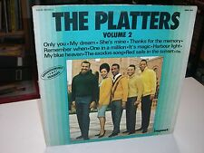 33 TOURS / LP--THE PLATTERS--THE PLATTERS VOLUME 2