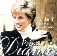 England's Rose-Tribute to Diana 1998 by VARIOUS . EXLIBRARY *NO CASE DISC ONLY*