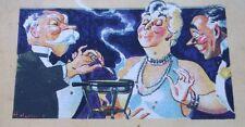 OLD 1934 LEA & PERRIN STEAK MEAT SAUCE COOK BOOK RECIPE CULINARY DEPRESSION ERA