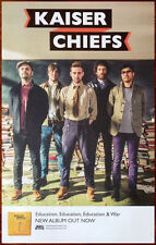 KAISER CHIEFS Education & War 2014 Ltd Ed RARE New Poster+FREE Rock Indie Poster