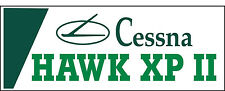 A051 Cessna Hawk XP II Airplane banner hangar garage decor Aircraft signs