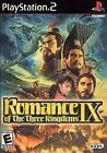 Romance of the Three Kingdoms IX 9 PS2 Video Game PlayStation 2 3 COMPLETE