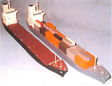 Burt Industries 77101-2 Container/Bulk Carrier Ship 550' Kit w/Container Z SCALE