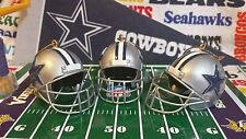 NFL Dallas Cowboys Helmet Ornament Set (of 3) from The Memory Company  *NEW*