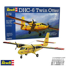 DHC-6 Twin Otter - 1/72 Revell Civilian Aircraft Model Kit #4901 New
