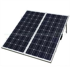 12V 200W Mono Foldable Solar Panel Module Kit W/ 15A Controller for Vehicle RV