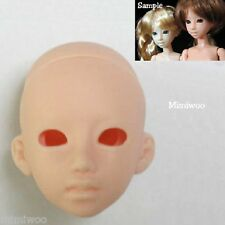 Obitsu 21cm 23cm Female Body 1/6 Dollfie Doll Option Head 03 Eye Hole Natural