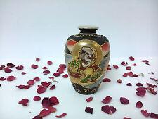 Jarron en miniatura de porcelana oriental, Japon Satsuma, Dai Nippon.