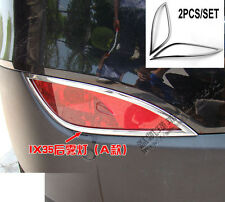 FOR HYUNDAI TUCSON IX35 2010 2011 2012 CHROME REAR FOG LIGHT TRIM LAMP COVER
