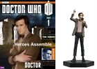 OFFICIAL DOCTOR WHO FIGURINE COLLECTION #1 MATT SMITH 11TH DR EAGLEMOSS MAGAZINE