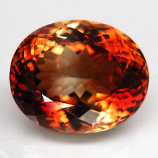 26.3ct.EXTREMELY LUSTER! 100%NATURAL TOP IMPERIAL TOPAZ UNHEATED AAA GIANT!