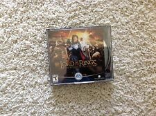 Lord of the Rings Return of the Kings 3 Three Disc EA Game PC CD New Line Cinema