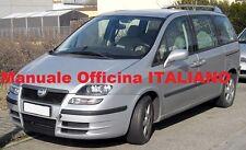 Fiat Ulysse Seconda Serie 2° (2002/2010) Manuale Officina Riparazione ITALIANO