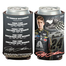 Jeff Gordon Foundation of a Champion Can Cooler 12 oz. NASCAR koozie