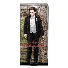 Mattel Twilight Saga Breaking Dawn Edward Cullen Collectible Barbie Ken Doll