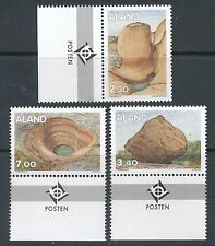 Finland Aland 1995 MNH - Rock Stone Formations - Geology