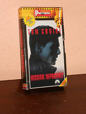 MISSION IMPOSSIBLE-VHS -FILM- CINEMA