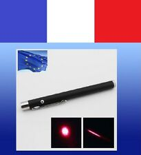 Pointeur LASER ROUGE Visible JUSQU'A 5kms NEUF green - 1mW pointer