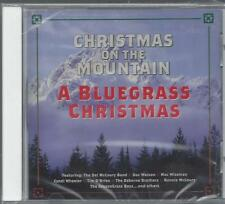 Christmas on the Mountain Bluegrass Tim O'Brien Del McCoury Mac Wiseman NEW CD