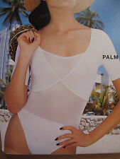 $259 ✨ WOLFORD ✨ NIB  ~Palm Beach ~ NEON & Velvet ✨ Body Bodysuit BLACK Medium M