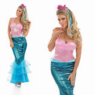 Ladies Little Mermaid Fancy Dress Costume Sexy Ariel Halloween Outfit