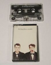 PET SHOP BOYS ACTUALLY CASSETTE TAPE LIGHTLY USED