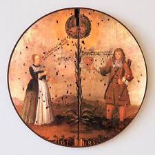 Hochzeitsscheibe Ehepaar Herz Frischvermählte Tracht Schützenscheibe 41cm 63