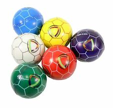 6 Soccer Football Hand Finger Exercise Stress Relief Therapy Squeeze Balls