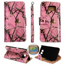 For Samsung Galaxy S6 Edg Ck Wallet Camo Pink Mozy Cover Case Un Leather
