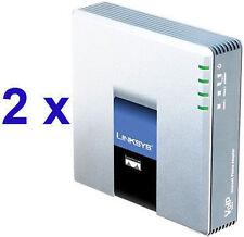 2 x Linksys Pap2T + Account SIP + 10 € di traffico voce + Pannello di Controllo