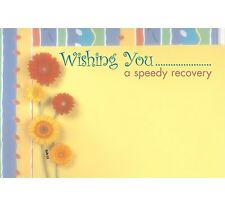 """50ct. """"Get Well Soon"""" Speedy Recovery Blank Florist Enclosure Cards Small Tags"""
