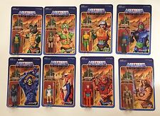2015-16 SUPER 7 MOTU MASTERS OF UNIVERSE SERIES 1 & 2 LOT OF 8 ACTION FIGURES