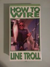 dr jim wright  HOW TO WIRE LINE TROLL    VHS VIDEOTAPE