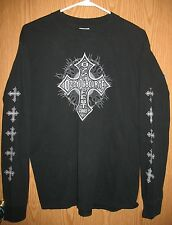 Ozzy Osbourne - Ozzfest 2005 - Long Sleeve (M) Shirt 100% Cotton PreShrunk Black