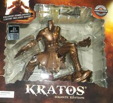 NEW Gamestop Gaming Heads Limited Exclusive GOD OF WAR KRATOS Bronze Statue RARE