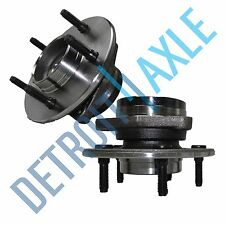 Both (2) New Complete Front Wheel Hub & Bearing Assembly F-150 Trucks 4x4 NO ABS