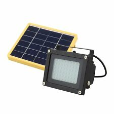Solar Powered 54 LED Dusk-to-Dawn Sensor Waterproof Outdoor Security Flood Light