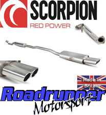 SCORPION MINI COOPER S mk2 r58 Coupe SCARICO DE CAT TUBO DI SCOLO & RES sistema Twin o