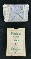 Vintage patience cards boxed set sealed De la Rue Stationers Ltd,  Ringwood link