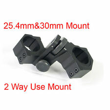 Laser Sight Rifle Scope Mount 25.4mm 30mm Diameter Adjustable Elevation Windage