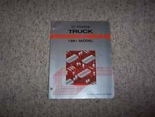 1991 Toyota Truck Electrical Wiring Diagram Manual Deluxe SR5 2.4L 3.0L 4Cyl V6