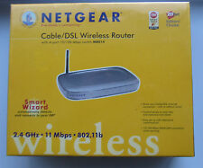New Sealed Netgear MR814V2 802.11b Cable or DSL Wireless Router